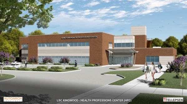 Lone Star College-Kingwood will break ground March 2 on the new Lone Star Health Professions Center. (Courtesy Lone Star College-Kingwood)