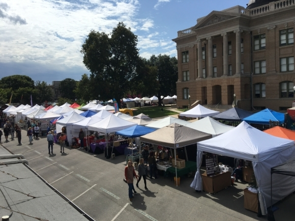 Georgetown Market Days occur on the second Saturday of the month from March to November. (Courtesy Downtown Georgetown Association)