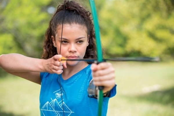 Troop 1277 began recruiting female members in January. (Courtesy Scouts BSA)