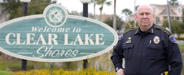 """Tracy """"TK"""" Keele, Tracy Keele, Clear Lake Shores police chief, CLS police chief"""