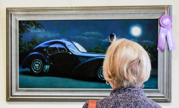 The annual National Madley Gallery is held March 5-28 at 127 Simonton Street, Conroe. (Andy Li/Community Impact Newspaper)