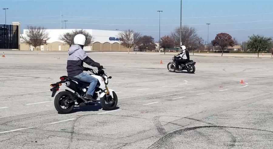 Motorcycle Training Center provides riding courses and classroom instruction. (Courtesy city of Richardson)