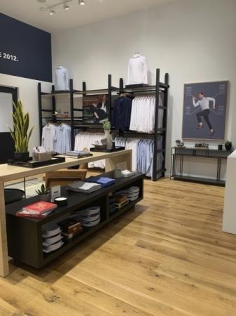 Dallas-based men's fashion retailer Mizzen+Main is now open in Domain Northside. (Courtesy Mizzen+Main)