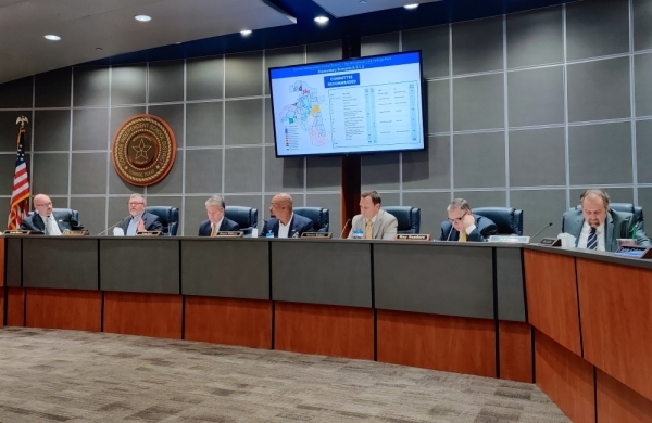 Conroe ISD's board of trustees unanimously approved the rezoning plan for The Woodlands and College Park feeder zones Feb. 25. (Ben Thompson/Community Impact Newspaper)