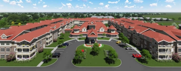 The facility will offer 132 condominiums for seniors. (courtesy Country Lane)