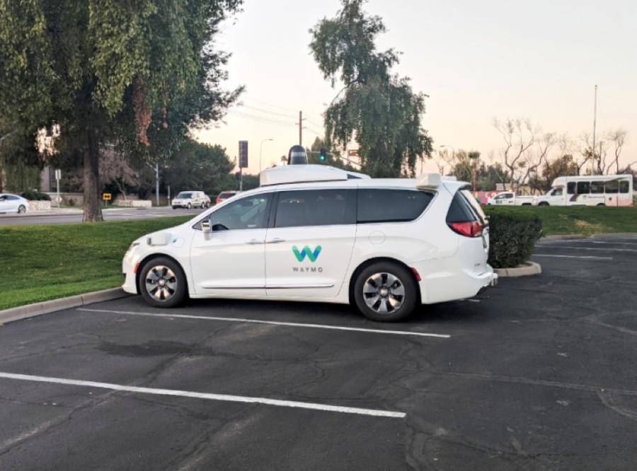 Waymo, an autonomous vehicle company, is one of the innovative companies in Chandler. (Alexa D'Angelo/Community Impact Newspaper)
