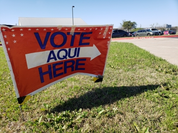 More than 53,000 Williamson County voters cast ballots during the early voting period ahead of the March 3 primary. (Ali Linan/Community Impact Newspaper)