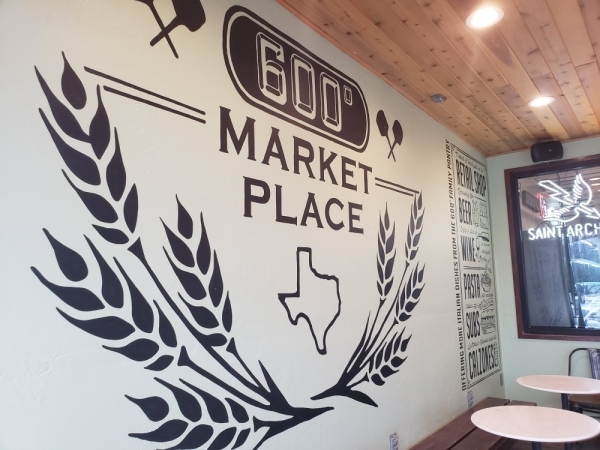 Georgetown's 600 Degrees Pizzeria and Drafthouse opened it expansion project—600 Degrees Market Place—one block north of the original location March 2. (Ali Linan/Community Impact Newspaper)