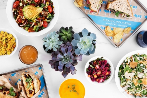 Mendocino Farms serves sandwiches, salads, soups and side dishes. (Courtesy The Howard Hughes Corp.)