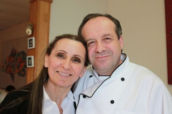 Alfred Limani and his wife, Vjosa Berisha, opened Amore in 2017. (Andy Li/Community Impact Newspaper)