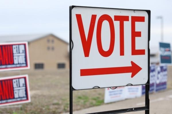 Denton County polling locations closed at 7 p.m. (Liesbeth Powers/Community Impact Newspaper)