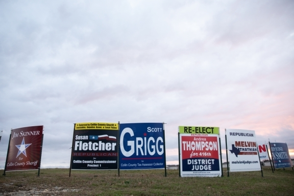 Registered voters in Collin County cast ballots for various local, state and federal races in the March 3 primaries. (Liesbeth Powers/Community Impact Newspaper)
