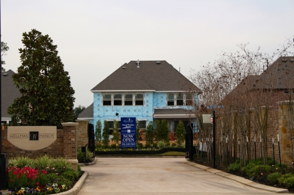 Wellman Manor is under development in Shenandoah. (Ben Thompson/Community Impact newspaper)