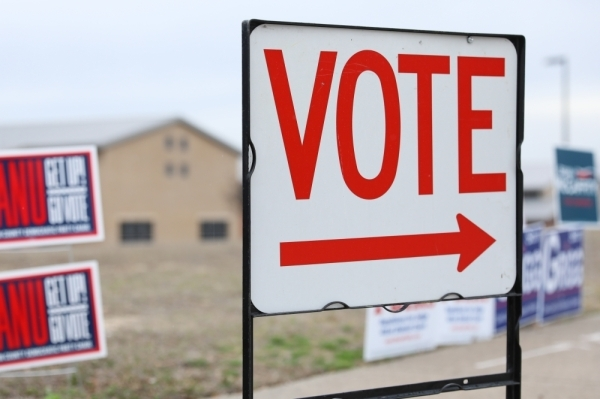 Denton County's early voter turnout results are in before the March 3 primary election. (Liesbeth Powers/Community Impact Newspaper)