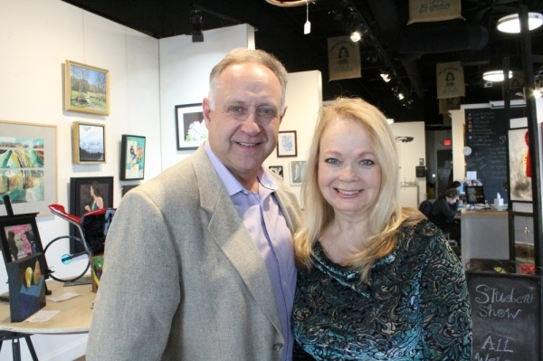 Marty and Anita Robbins became the owners of Studio Art House in 2012. (Anna Herod/Community Impact Newspaper)