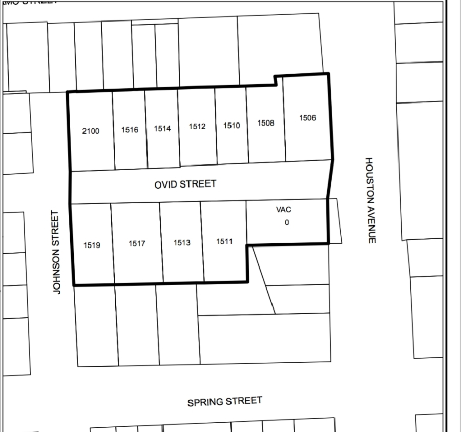 The special minimum lot size block was approved by Houston City Council on March 4. (Courtesy Houston Planning Department)