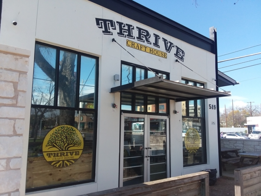 Thrive Craft House will be opening this spring in Central Austin. Brian Perdue/Community Impact Newspaper