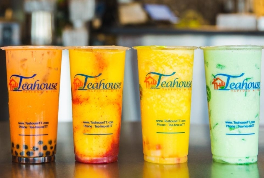 The bubble tea shop offers tapioca with smoothies as well as slushies, coffee and tea brewed daily. (Courtesy The Teahouse Tapioca and Tea)