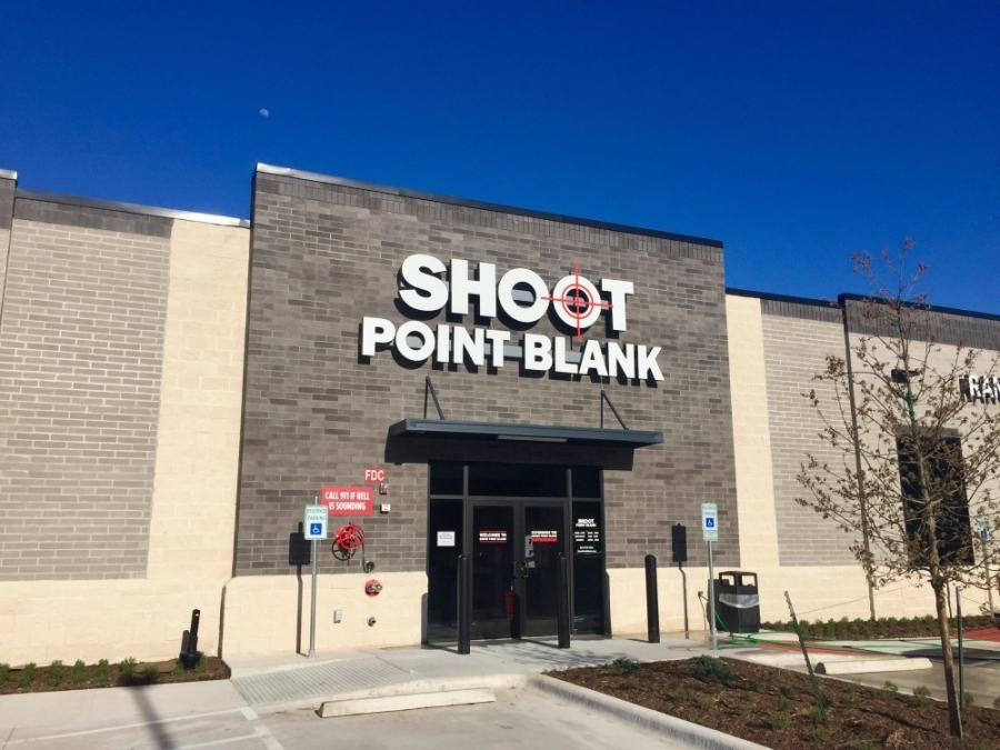 Shoot Point Blank will celebrate the grand opening of its Round Rock location March 27-29. (Kelsey Thompson/Community Impact Newspaper)