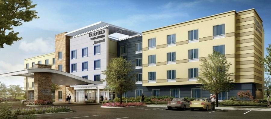 Fairfield Inn and Suites by Marriott will be opening next year in McKinney. (Rendering courtesy Marriott Fairfield Inn)