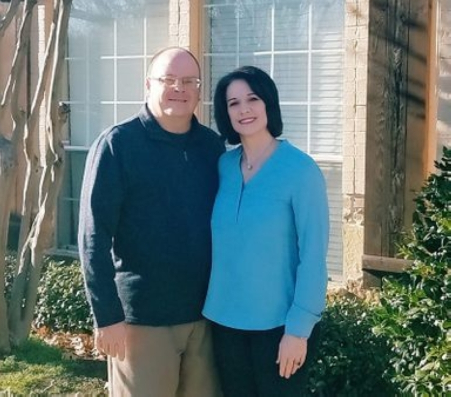 Angie and Stewart Cox founded Cox Cleaning 20 years ago. (Courtesy Cox Cleaning)