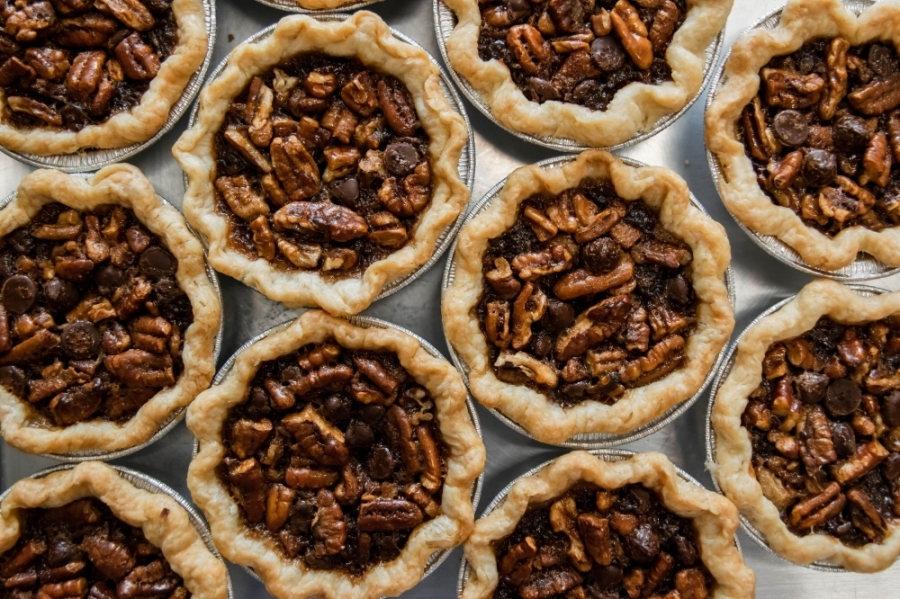Customers can purchase an array of pie flavors at Crave Pie Studio. (Courtesy Crave Pie Studio)