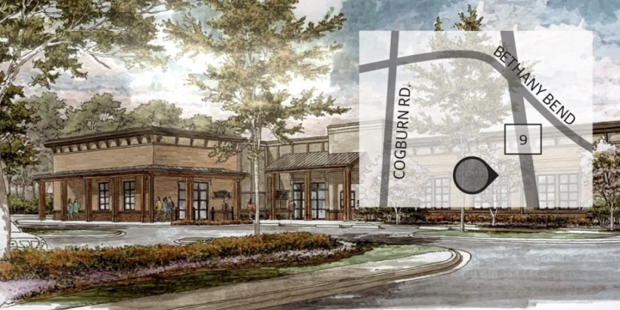 The new public safety complex is expected to open this year. (Rendering courtesy city of Milton)