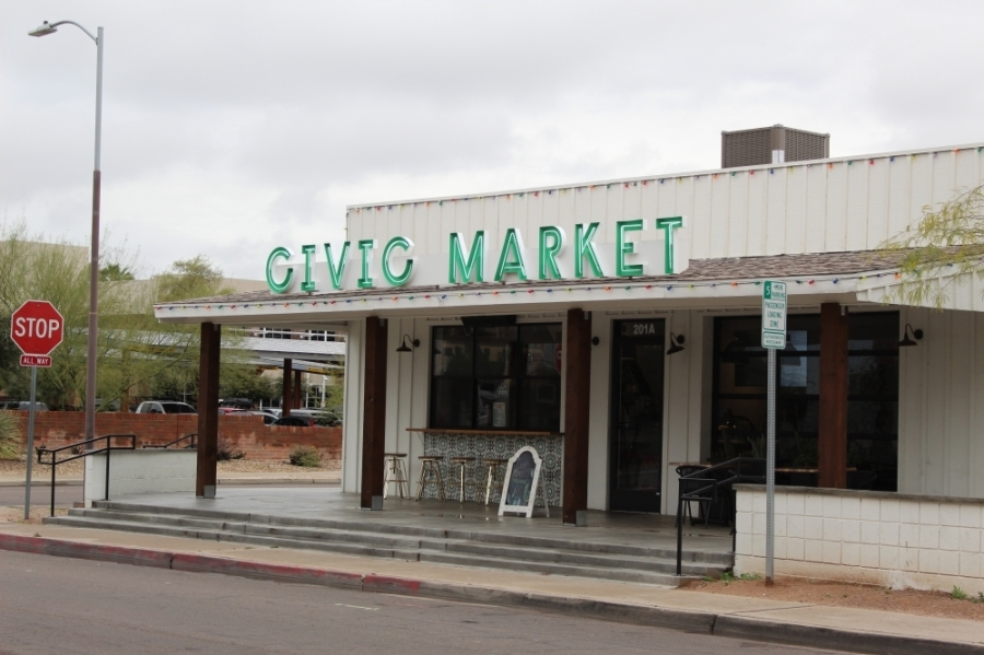 Civic Market will celebrate its first anniversary in downtown Chandler in March. (Alexa D'Angelo/Community Impact Newspaper)