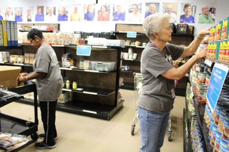 Network has closed its food pantry but will provide clients with prepackaged boxes of food. (Olivia Lueckemeyer/Community Impact Newspaper)