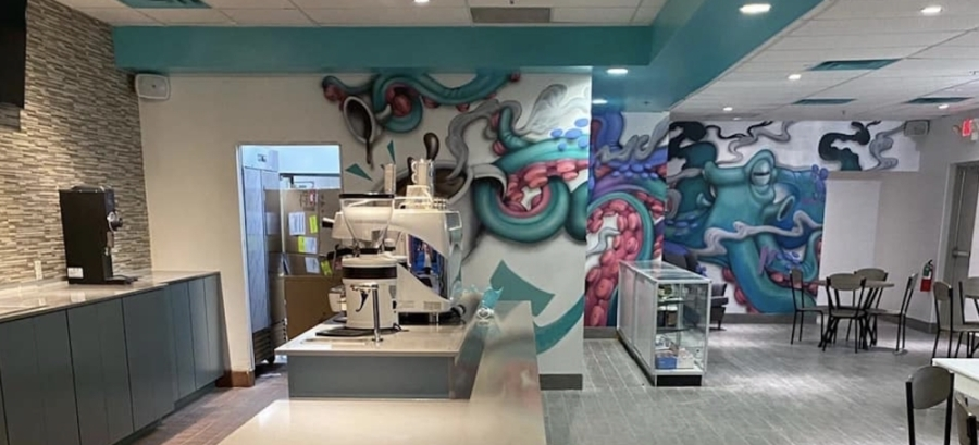 Coral Reef Coffee Company is now open in Lewisville. (Courtesy Coral Reef Coffee Company)
