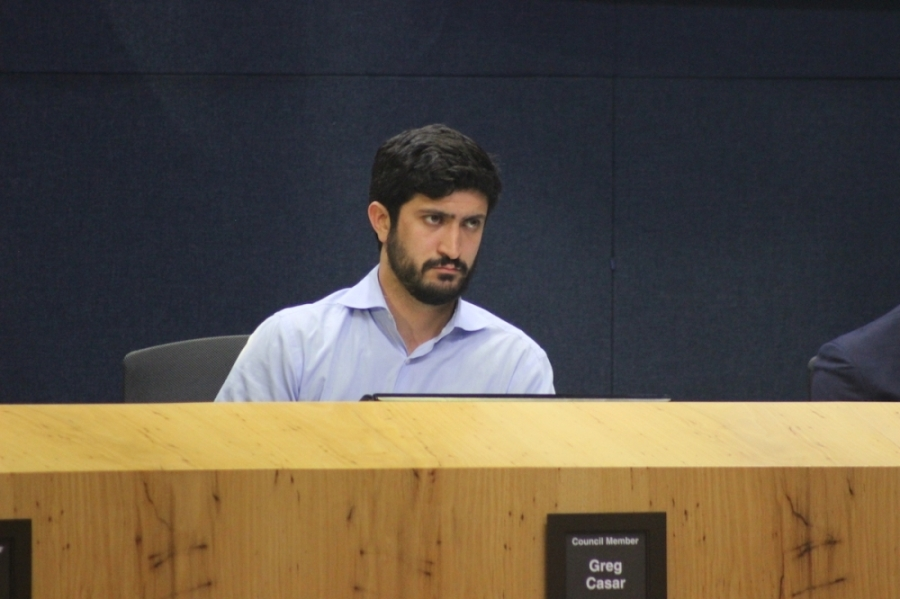 District 4 City Council Member Greg Casar (Christopher Neely/Community Impact Newspaper)