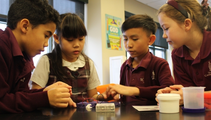 St. Joseph Catholic School is one of several private school options in Richardson. (Courtesy St. Joseph Catholic School)