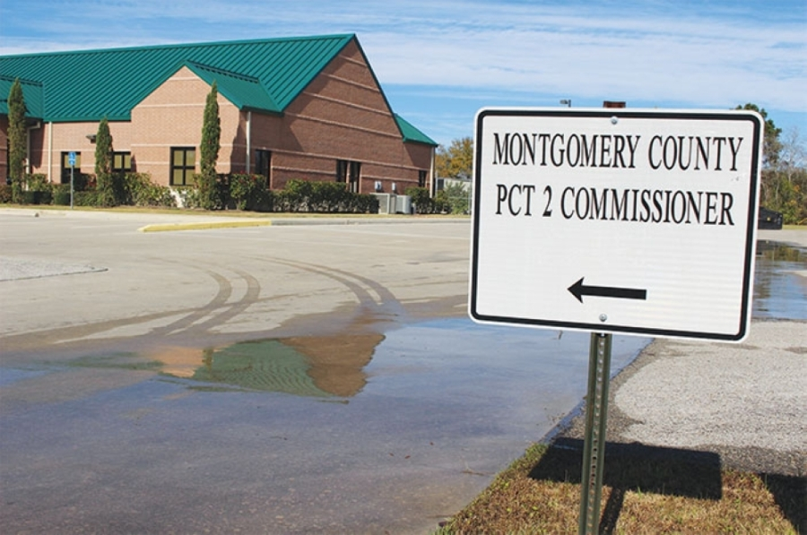 Montgomery County Precinct 2 has ceased all but emergency operations. (Anna Lotz/Community Impact)