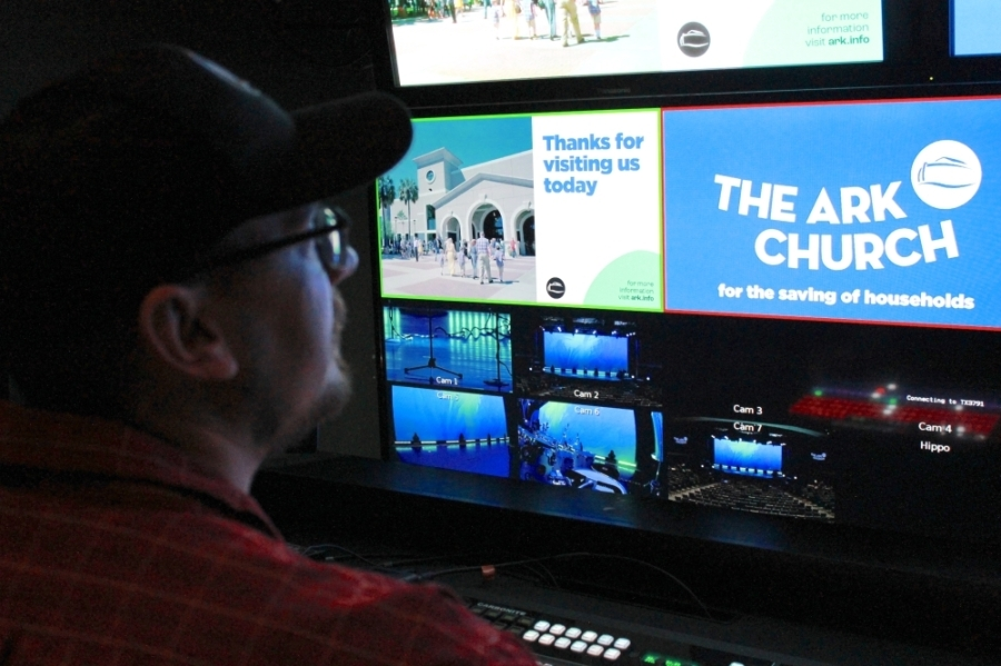 The Ark Church has seen an increase in viewership for its livestreams of Sunday and Wednesday services. (Andy Li/Community Impact Newspaper)