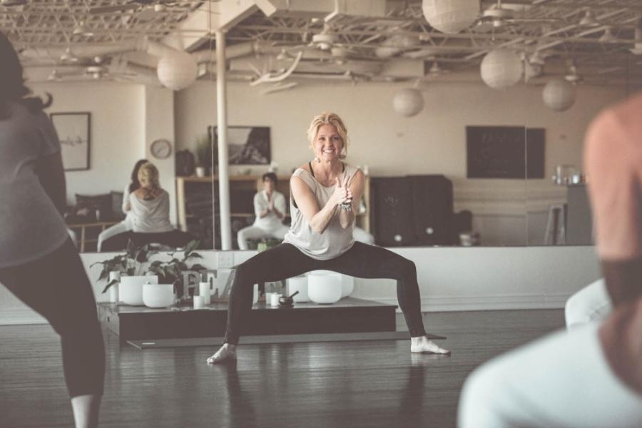 Allison Fullmer is now offering yoga classes online in the midst of the coronavirus outbreak. (Courtesy Sanara Yoga & Wellness)