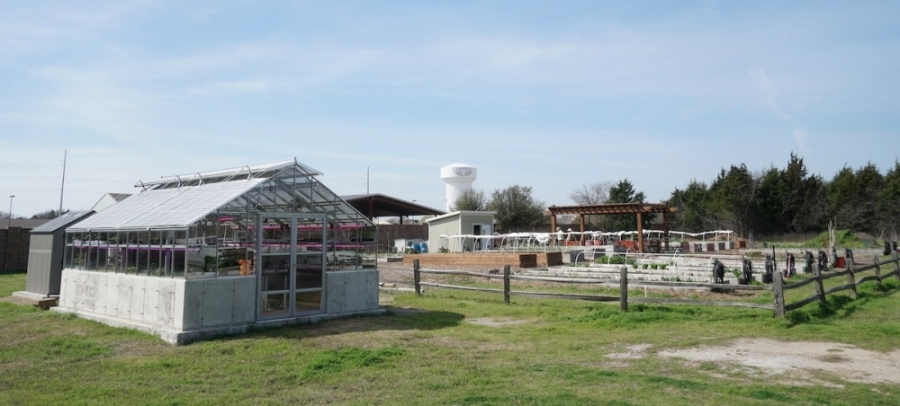 The Old Town Garden is located at 345 W. Bethel Road, Coppell. (Gavin Pugh/Community Impact Newspaper)