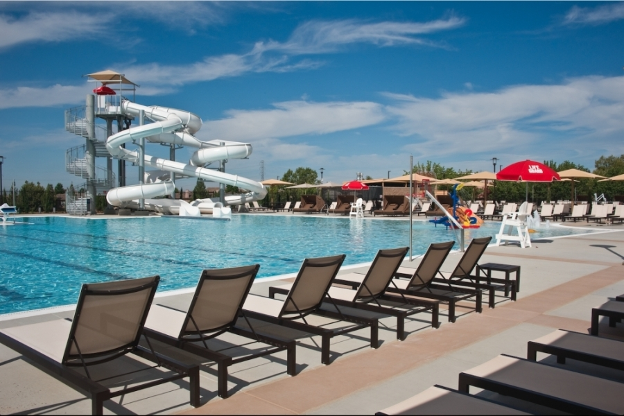 VillaSport Athletic Club and Spa Cinco Ranch opened March 5, but Gov. Greg Abbott issued an executive order effective March 20 closing all gyms. (Courtesy VillaSport Athletic Club and Spa)