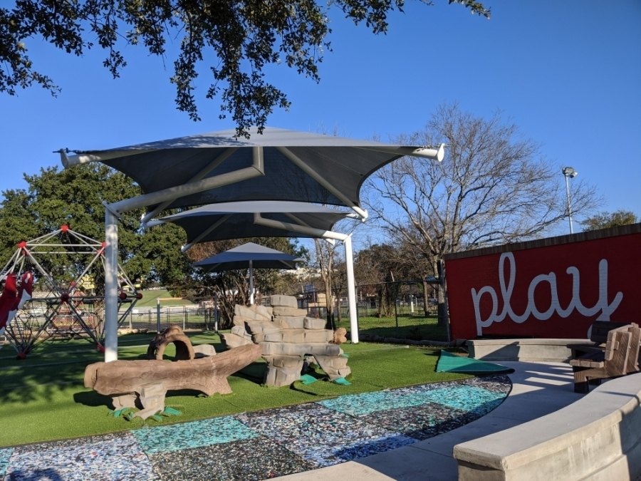 Loewy Family Playground. Courtesy Austin Parks & Recreation Department