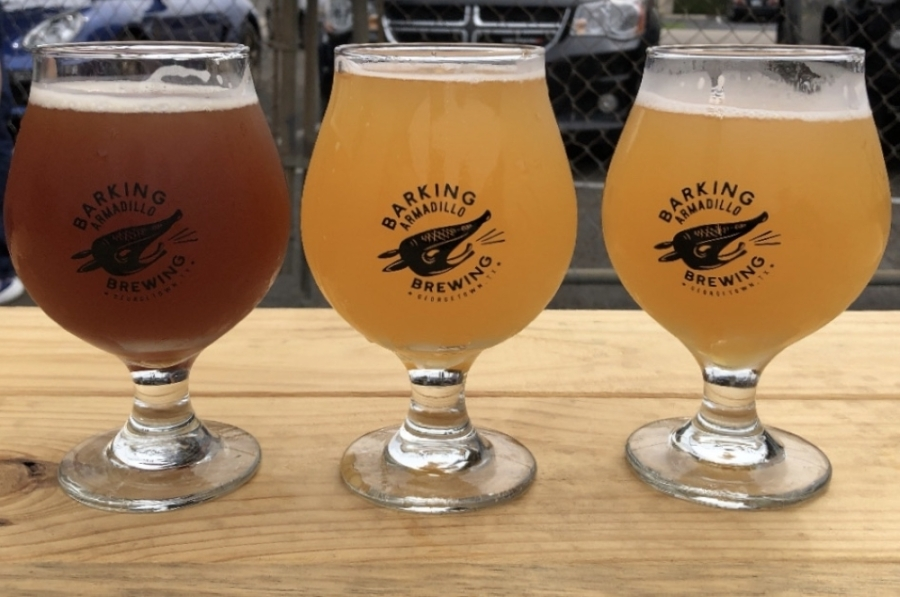 Barking Armadillo Brewing temporarily closed its taproom the week following its grand opening celebration. (Courtesy Barking Armadillo Brewing)