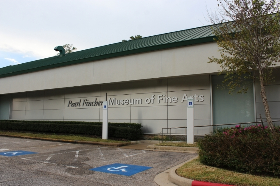 The Pearl Fincher Museum of Fine Arts closed to the public beginning March 17. (Hannah Zedaker/Community Impact Newspaper)