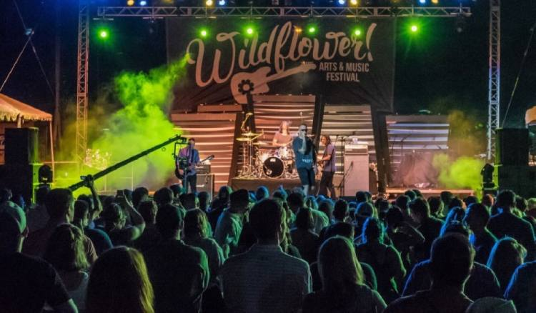 The Wildflower Festival, set to take place May 15-17, has been canceled. (Courtesy Wildflower Arts & Music Festival)