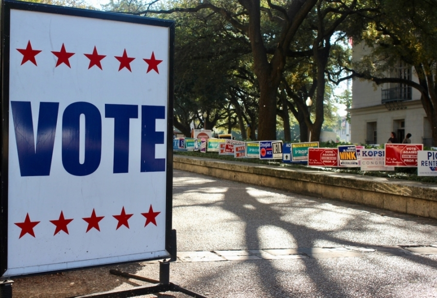 An action item to potentially postpone the May 2 trustee election is listed on the Eanes ISD March 31 meeting agenda. (Taylor Jackson Buchanan/Community Impact Newspaper)