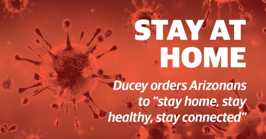 Gov. Doug Ducey issued an executive order March 30 ordering Arizonans to stay at home. (Community Impact Newspaper)