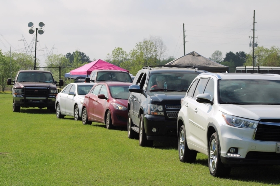 The Wilderness Farmers Market has seen success after shifting to a drive-thru market. (Courtesy of The Wilderness Campground & Farmers Market)