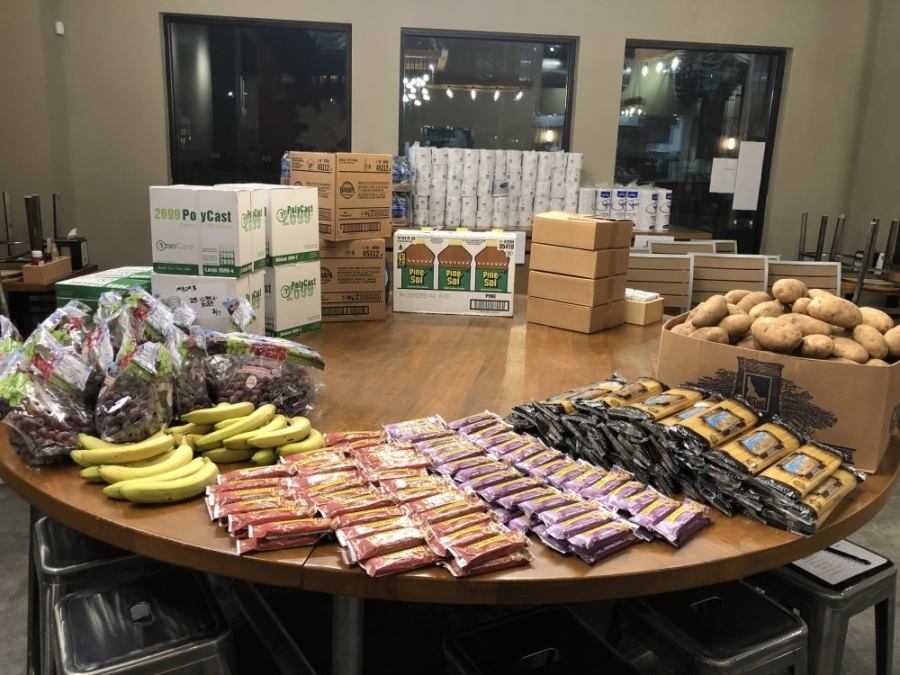Community members can now purchase high-demand grocery store products at Maple Street Biscuit Company through the restaurant's Pantry Project. (Courtesy Shasta Judy)