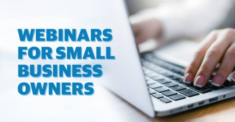 The Chandler Chamber of Commerce is partnering with other chambers and with the U.S. Small Business Administration to bring weekly webinars to business owners. (Graphic by Community Impact Newspaper)