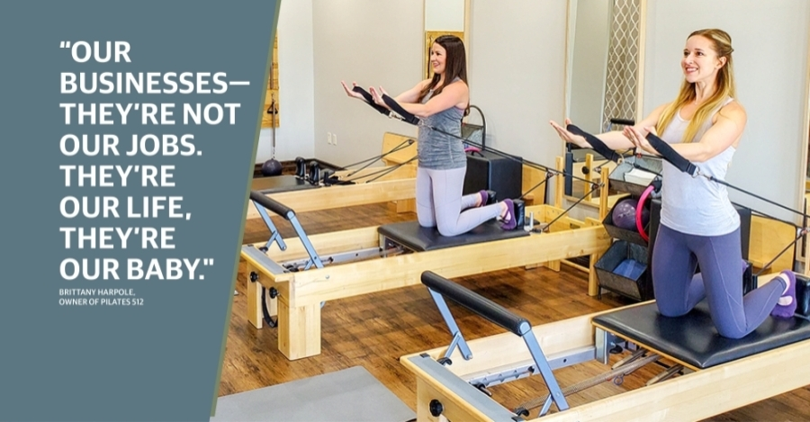 Pilates 512 was one of more than 80 recipients of the Round Rock Cares fund. (Courtesy Brittany Harpole)