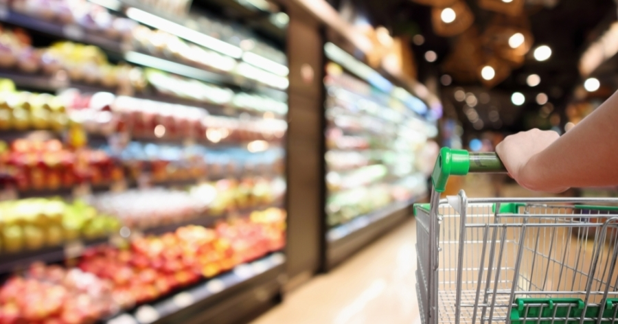 Area grocery stores are finding ways to provide food while attempting to slow the spread of the coronavirus. (Courtesy Adobe Stock)