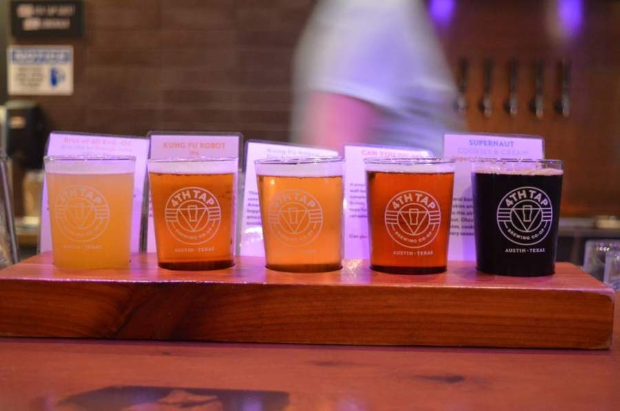 4th Tap Brewing Co-Op is one of several breweries in North Austin still selling beer to go ahead of the Great Texas Beer Run. (Iain Oldman/Community Impact Newspaper)
