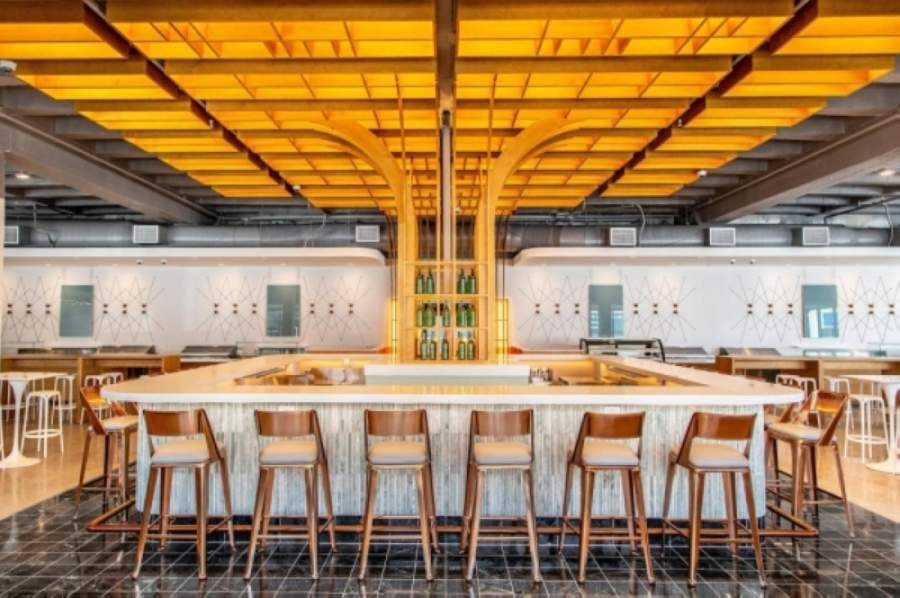Politan Row Houston at 2445 Times Blvd., Houston, will be one of five food halls nationwide offering a residency program to displaced hospitality community members. (Courtesy Jenn Duncan/Politan Row)